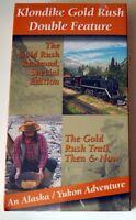 Nip Vhs Movie: Klondike Gold Rush Double Feature Railroad Trail Alaska Yukon
