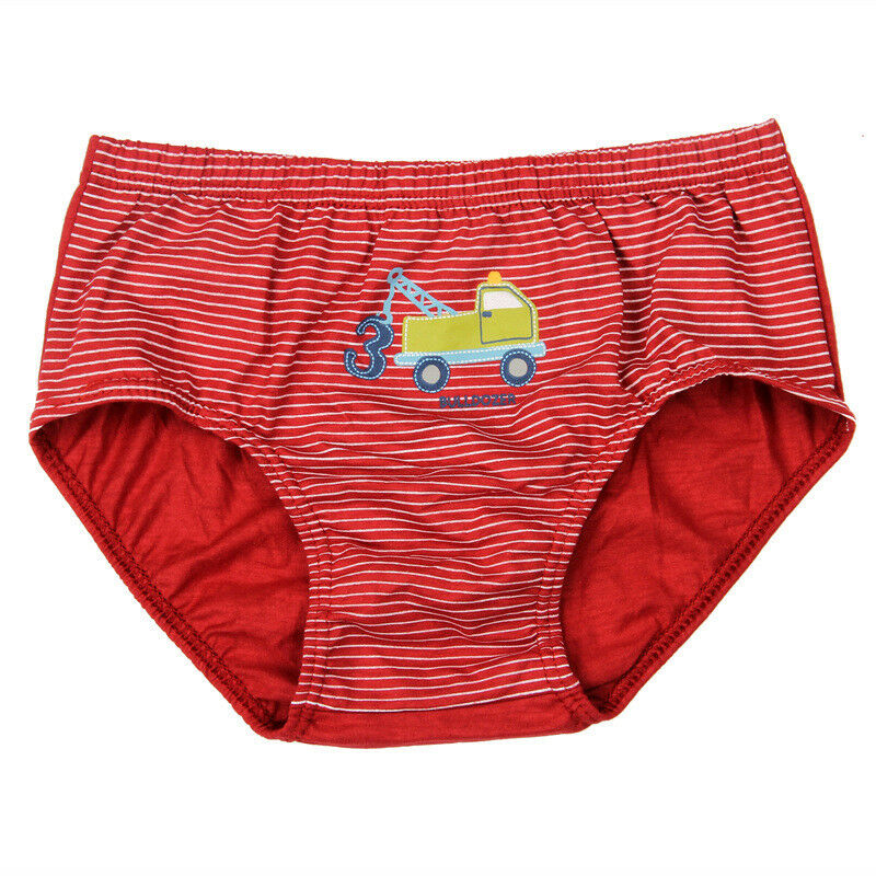 BabyEnesu Toddler Boys Cotton Underwear Cartoon Underpants 5 PackMedium