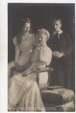 Kaiserin Prinz Joachim & Victoria Luise RP Postcard Germany Royalty 047b