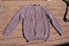 Shades of Mauve & Gray COUNTRY KNITWEAR IRELAND Pullover Sweater XLT or 48