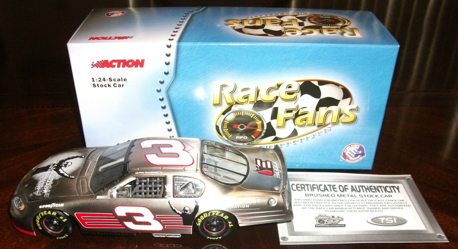 DALE EARNHARDT 2003 Chevy Monte Carlo FOUNDATION 'For Race Fans Only'  1 24 Car