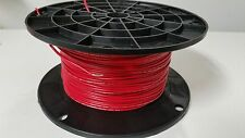 1000 REEL UL1007 20 AWG RED Hook Up Lead Primary Wire TINNED Stranded 300V