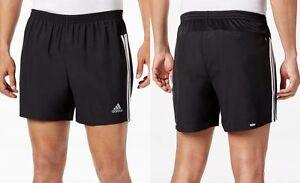 Adidas-MEN-039-S-7-034-inseam-Gym-Athletic-Exercise-Shorts-Black-White-B43393-NEW