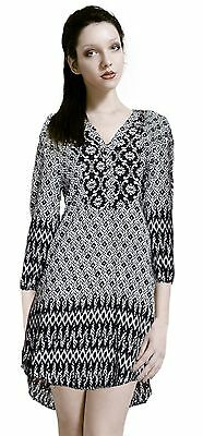 NWT Printed  High Low Tunic by Umgee USA