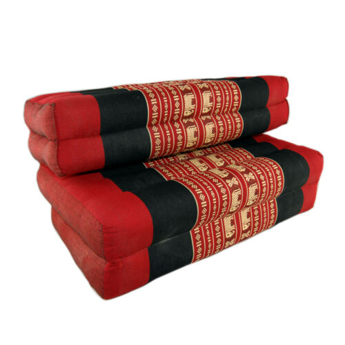 DM12 Red Elephant Double Fold Meditation Cushion
