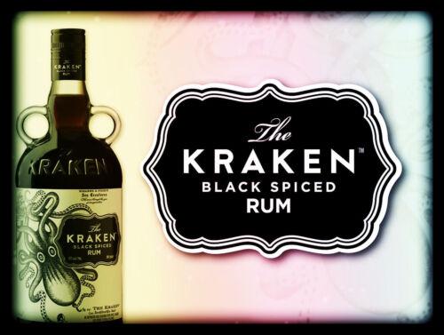Cool Novelty Gift Bar// Pub Kraken Rum Retro Metal Signs//Plaques Man Cave
