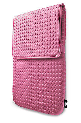 "Lacie Coat Pink 17"" Macbook Pro Sleeve Design By Sam Hecht 130929 Nuovo New Neu Materiali Di Alta Qualità Al 100%"