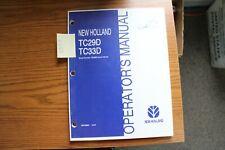 New Holland Tc29d Tc33d Operators Manual