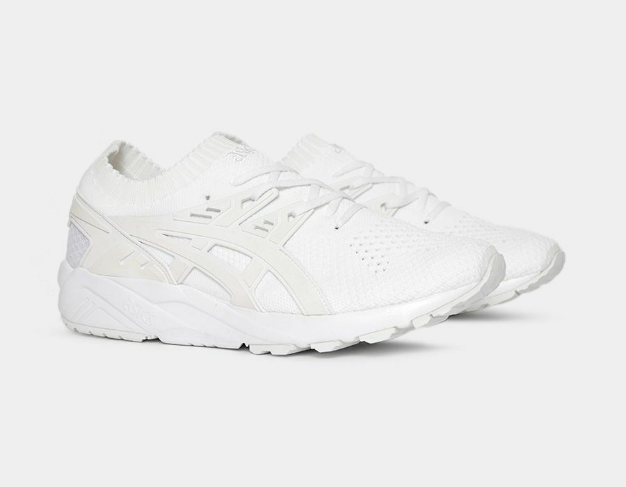 Asics Gel Kayano Trainer Knit Triple Blanc kith New Homme Chaussures mita H705N-0101