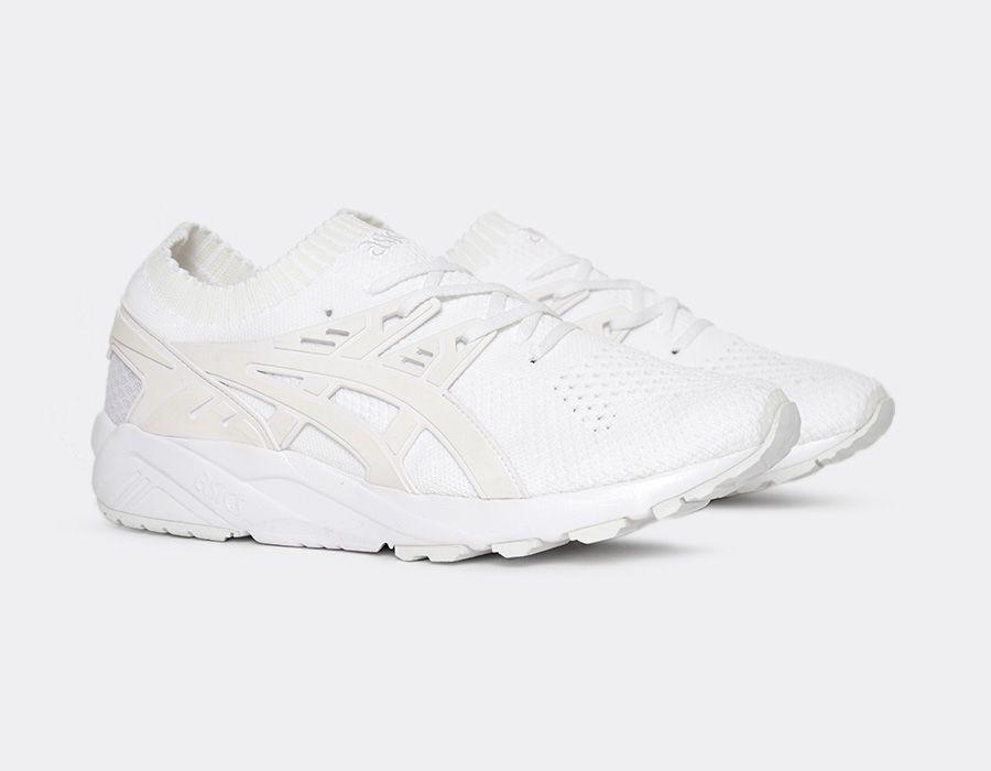 Asic gel kayano trainer nuovi a tripla bianco con nuovi trainer uomini scarpe mita h705n-0101 27d422