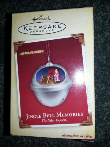 HALLMARK Keepsake 2005 JINGLE BELL MEMORIES Christmas Ornament POLAR EXPRESS New