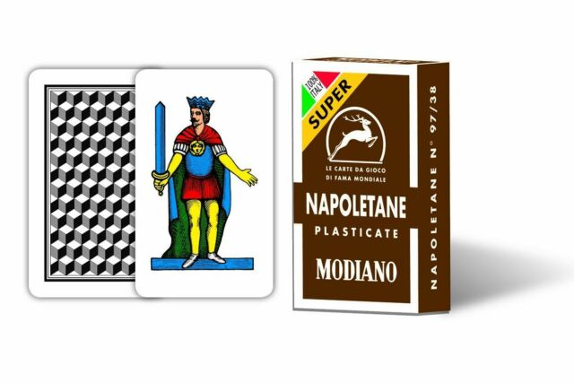 Italian Playing Cards-Napoletane NEW
