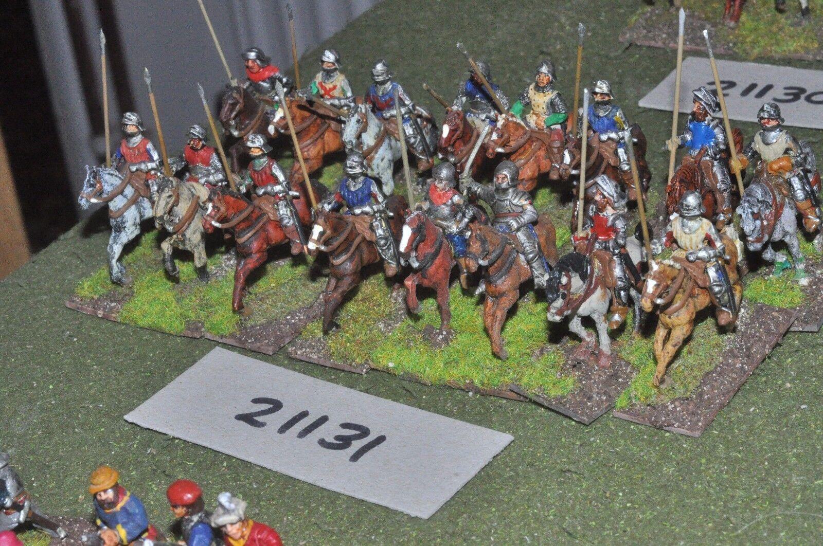 25mm renaissance   generic - 16 cavalry - cav (21131)