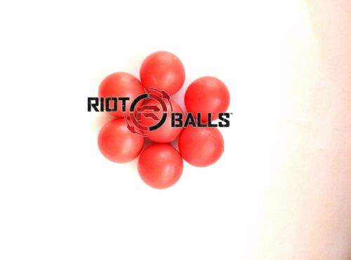 Riot Balls Self Defense Less Lethal Practice Paintballs Red 500 X 0.43 Cal