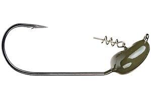 Strike King Jigheads TGMJH5034-46 Tour Grade Mag Screw Lock Gr Pumpkin 3//4oz 5//0