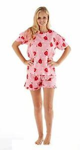 Ouvert D'Esprit Femmes Crop Top Pur Coton Avec Sweet Dreams Ardue Imprimer Shorts Pyjamas Set-afficher Le Titre D'origine