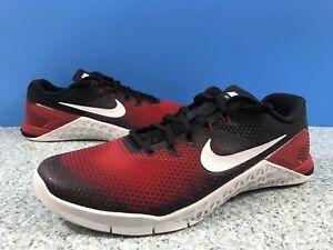 best sneakers c0370 2f149 Image is loading Nike-Metcon-4-Training-Shoe-Hyper-Crimson-Black-