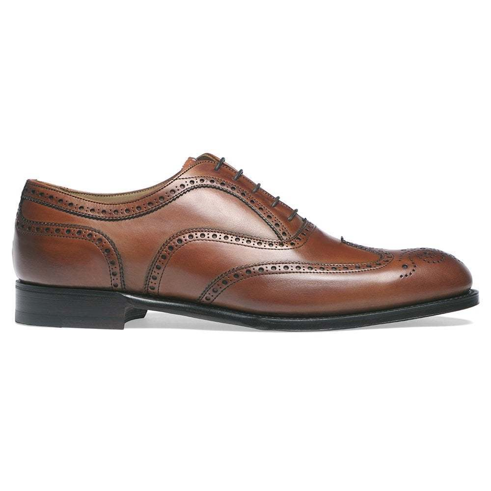Handmade Men's Genuine Tan  Leather Oxford Brogue Wingtip Classic Formal scarpe  negozio a basso costo