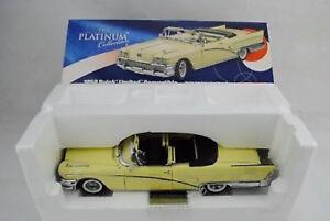 1-18-SUN-STAR-Platino-4811-Buick-Limitada-convertible-1958-RAREZA-NUEVO
