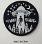 miniature 4 - Sew Iron On Round Patches Popular Badge Transfer Embroidered Funny Biker Slogan