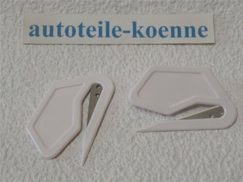 2x diapositives couteau diapositives Schneider diapositives abschneider Coupe-papier Wrap Wrapping