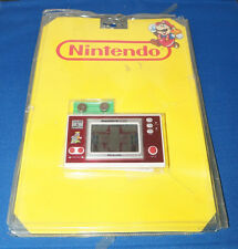 80s MARIO'S CEMENT FACTORY NINTENDO GAME & WATCH BLISTER PACK ELECTRONIC 1980s
