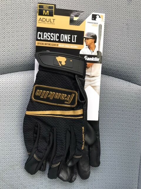 2 pairs of Franklin Player Classic Batting Gloves Adult size medium Baseball