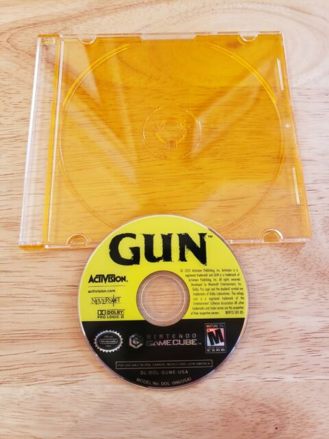 GameCube - Gun  (Tested & Guaranteed) Nintendo GC Shooter Video Game