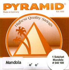Pyramid Mandola Saiten SATZ versilbert umsponnen