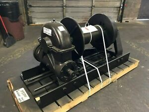 Details about Tulsa Rufnek Winch 65,000 lbs Line Pull, Mechanical Worm Gear  New RN65WM-RFO