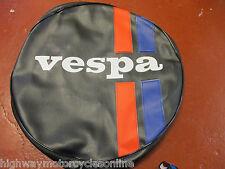 VESPA PX 125 SPARE WHEEL COVER QUALITY VESPA LOGO ALSO SUITS LML STAR UNIT