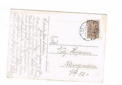 389 Auf Ansichtskarte Ab Wien Nach Deutschland Bequemes GefüHl Briefmarken Vereinigt Österreich Herrliche Ef Der Minr