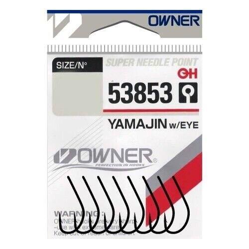 Owner Japan Haken 53853 Yamajin with Eye mit Öse verschiedene Größen