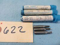 3 Trw-putnam 2flute 1/8 X 3/16 End Mill Usa 622
