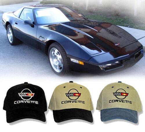 HH #043 Chevy Vette Chevrolet C4 Corvette Logo Hat 1984-1996