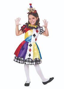Prezzo di fabbrica 2019 prodotti di qualità in vendita online Dettagli su Bambino Clown Del Circo Carte da Gioco Stile Costume da  Principessa 3 Misure