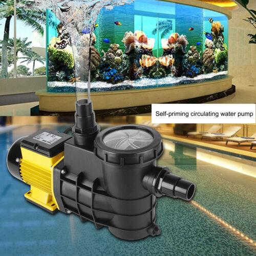 Schwimmbadpumpe Umwälzpumpe Poolpumpe elektronik Gelb 5000//8000//14500L//h Pumpe