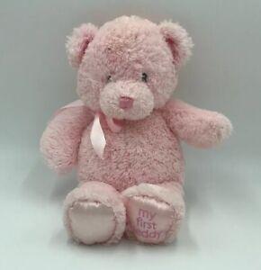 Baby-Gund-My-First-1st-Teddy-Bear-Pink-Plush-Toy-Small-10-034-Stuffed-Animal-Ll