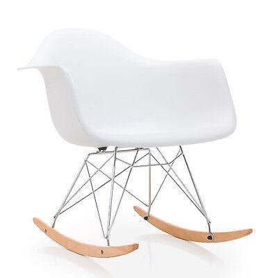 Sillas mecedora blancas silla diseño nórdico modelo Rocker