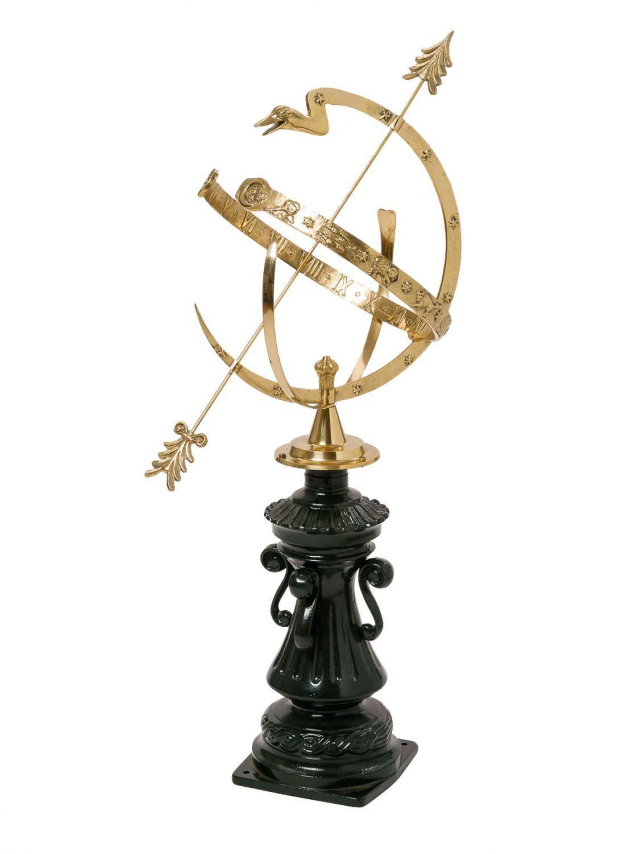 Sonnenuhr 104cm Alu Alu Alu Garten Dekoration antik Stil Sternzeichen sundial | Verschiedene  | Neuheit Spielzeug  | Maßstab ist der Grundstein, Qualität ist Säulenbalken, Preis ist Leiter  6e9f5c