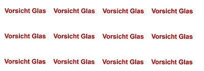 120 Adressaufkleber Mit Dem Text *drucksache Oder Vorsicht Glas ( 48,5 X 25,4 )