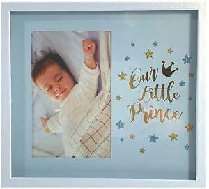 New-Baby-Boy-Shadow-Box-Photo-Frame-Newborn-Shower-Gift-Nursery-Keepsake