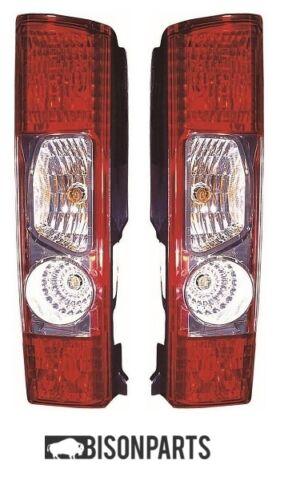 +FIAT DUCATO 2006-2014 REAR TAIL LAMPS LIGHTS BOTH SIDES RH /& LH FIA001//002