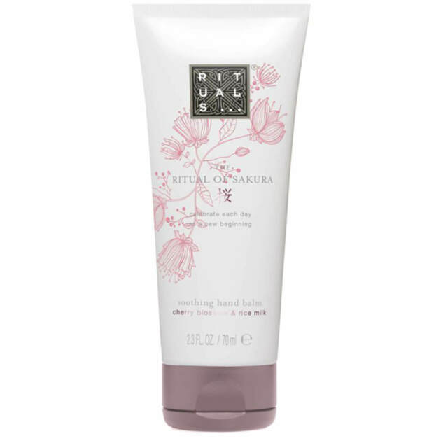 NEW Rituals The Ritual of Sakura Cherry Blossom & Rice Milk Hand Balm - 70ml