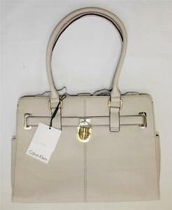 b014a592ef Image is loading NWT-Calvin-Klein-H2GAA800-Tote-Handbag-Modena-Leather-