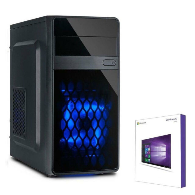 Quad Core PC GAMER AMD a10 7800 @ 3,9ghz 8 Go 1 To Complet Windows 10 Ordinateur