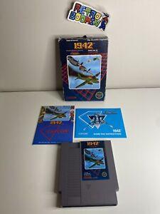 1942 Complete in Box cib 5 Screw hang-tab NES Collector Quality Hangtab Manual