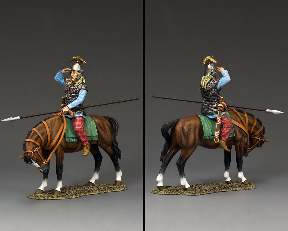 KING AND COUNTRY Barbarians - The Mounted Scout RnB005