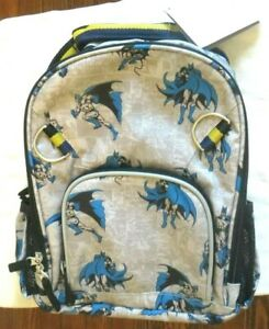 Pottery Barn Batman Backpack Bag Superhero School Boy