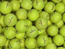 48 Pinnacle Gold Yellow  AAAA near  Mint used Golf Balls FREE TEES